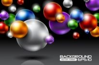 Free vector Vector background  brilliant halo background 04 vector
