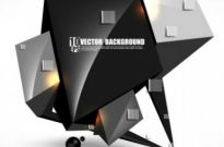 Free vector Vector background  brilliant sense of science and technology background 03 vector