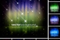 Free vector Vector background  Brilliant starlight background
