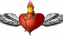 Free vector Vector Heart  Burning Heart