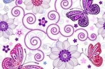 Free vector Vector background  Butterfly vector background