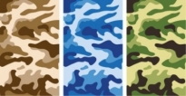 Free vector Vector pattern  Camouflage Pattern Vector Graphics