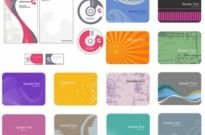 Free vector Vector background  card background color pattern vector