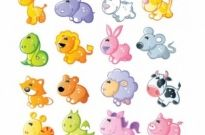 Free vector Vector cartoon  cartoon animals 01 vector