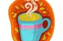 Free vector Vector cartoon  cartoon coffee cup stickers 02 vector