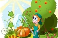 Free vector Vector cartoon  cartoon orchard 02 vector