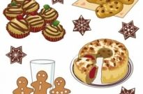Free vector Vector cartoon  cartoon pastries 04 vector