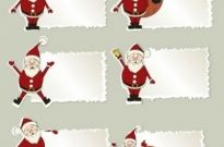 Free vector Vector cartoon  cartoon santa claus tab 01 vector