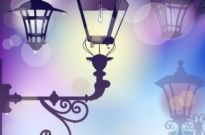 Free vector Vector background  cartoon street light background 01 vector