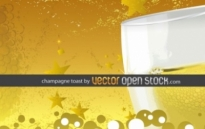 Free vector Vector misc  Champagne toast