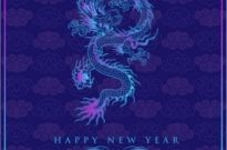 Free vector Vector background  chinese dragon background 03 vector