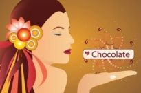 Free vector Vector people  Chocolate Girl