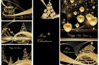 Free vector Vector background  christmas background christmas dream vector background ii