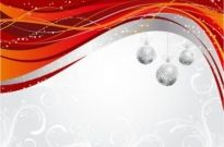 Free vector Vector background  christmas ball hanging dynamic background pattern vector