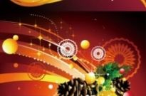 Free vector Vector background  christmas decoration background vector