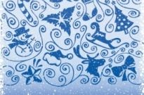 Free vector Vector pattern  christmas decoration pattern vector