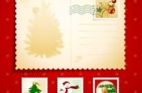 Free vector Vector Christmas  christmas elements stamp 02 vector