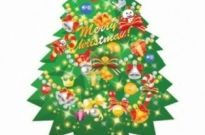 Free vector Vector Christmas  Christmas Tree Vector Illustration