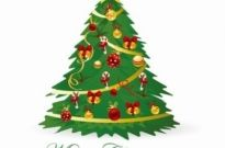 Free vector Vector Christmas  Christmas Tree Vector Illustration 3