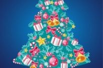 Free vector Vector Christmas  Christmas Tree Vector Illustration 7