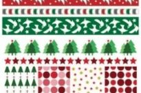 Free vector Vector background  christmas two sides continuous background 01 vector