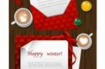 Free vector Vector Christmas  christmas wish letters vector