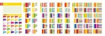 Free vector Vector misc  chromatography four seasons summer color vector