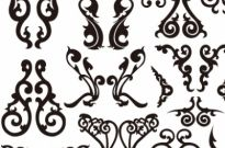 Classical Decorative Patterns Free Vector Graphics Free vector 564.34KB