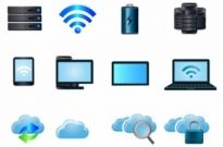 Free vector Vector icon  Cloud computing icons