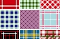 Free vector Vector pattern  Collection of Seamless Plaid Patterns