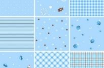 Free vector Vector pattern  Collection of Seamless Plaid Patterns Vector Background