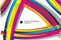 Free vector Vector background  color flow lines background 01 vector
