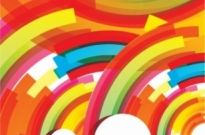 Free vector Vector background  color flow lines background 03 vector