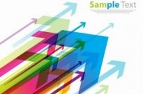 Free vector Vector background  Colored Arrows Vector Background