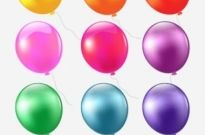 Free vector Vector misc  colored balloons 01 vector