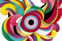 Free vector Vector abstract  Colorful Abstract Background Vector Garphic Art