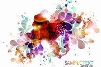 Free vector Vector abstract  Colorful Abstract Design Background