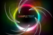 Free vector Vector abstract  Colorful Abstract Vector Art