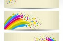 Free vector Vector background  Colorful Banners Background