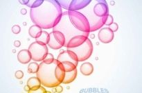 Free vector Vector background  Colorful bubbles vector background