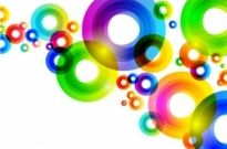 Free vector Vector background  Colorful Circles Background Vector Graphic