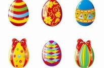 Free vector Vector misc  Colorful Easter Eggs Vector Illustration