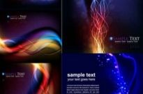 Free vector Vector background  Colorful high light dynamic background vector graphics