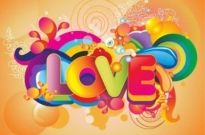 Free vector Vector background  Colorful Love Background Vector Art