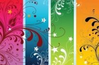 Free vector Vector misc  Colorful Nature Vectors