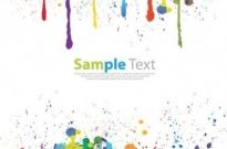 Free vector Vector misc  Colorful Paint Splat Vector