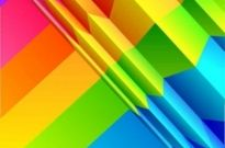 Free vector Vector background  Colorful rainbow background design