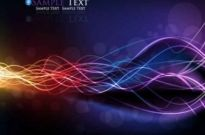Free vector Vector background  Colorful streamer background design vector