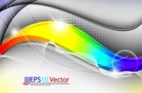 Free vector Vector background  colorful trend background 01 vector