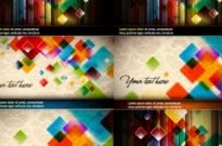 Free vector Vector background  colorful vector background crystal grid